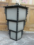 Antique metal lantern 20th C