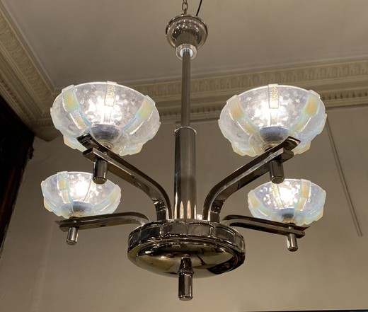 Antique Art Deco Chandelier