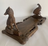 Antique book holder