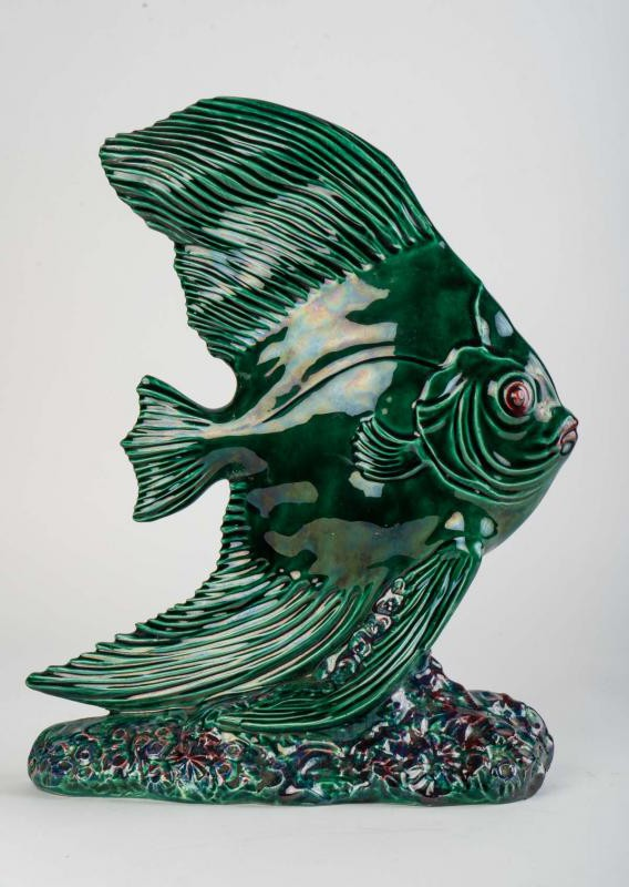 "Antique sculpture ""Fish"""