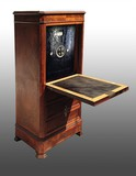 Antique secretary safe
