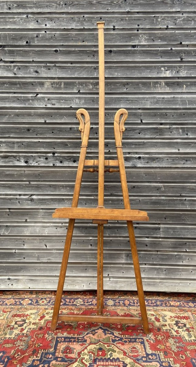 Antique easel
