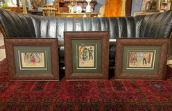 Set of antique paintings