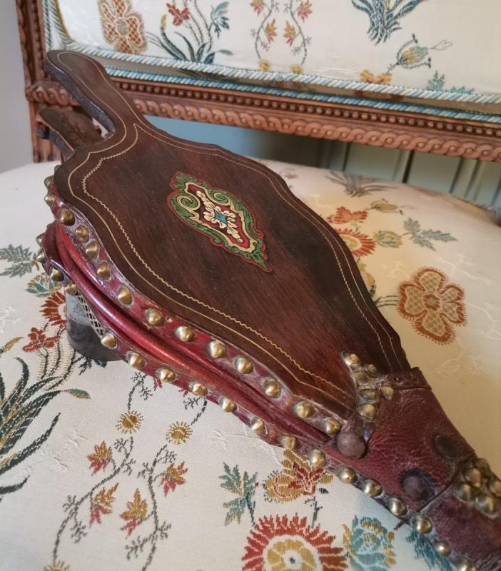 Antique mantel furs