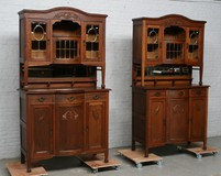 Pair of antique buffets