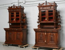 A pair of antique buffets