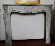 unusual fireplace louis xv