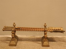 bronze fireplace tools