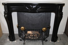 exclusive old fireplace louis XV