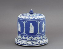 "cheese keeper ""Wedgwood"""