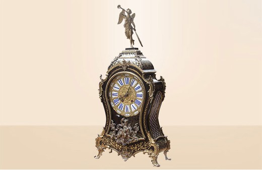 Boulle clock