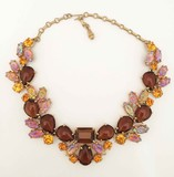 Elsa Schiaparelli Necklace brown.
