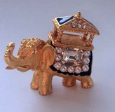 "Brooch "" Elephant"""
