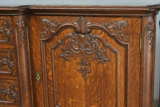 Antique liege style sideboard