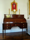 Louis XVI Period Mahogany Desk