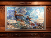 "Mosaic ""Running on the waves"""