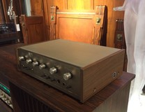 Vintage amplifier «Sansui»