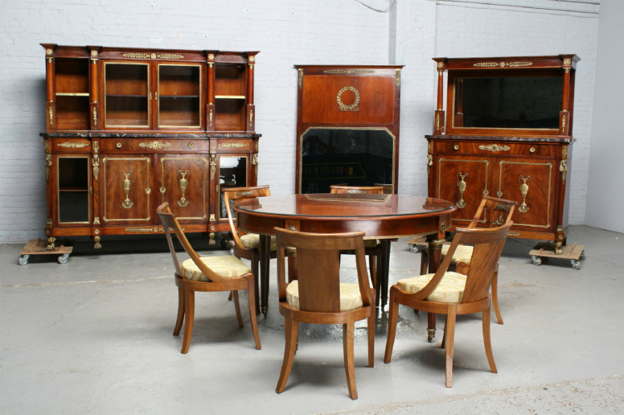 Antique Empire Dining Room SetRef Nr 14 2957